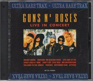 CD - Guns N' Roses – Live In Concert