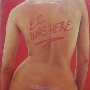 CD - Eric Clapton – E.C. Was Here - USA