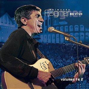 CD - Raimundo Fagner – Ao Vivo - Volumes 1 E 2