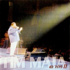 CD - Tim Maia ‎– Ao Vivo II