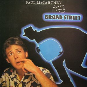 CD - Paul McCartney ‎– Give My Regards To Broad Street - IMP