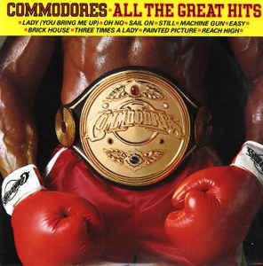 CD - Commodores ‎– All The Great Hits - IMP