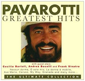CD - Luciano Pavarotti With Guest Stars Cecilia Bartoli, Andrea Bocelli, Frank Sinatra – Pavarotti Greatest Hits