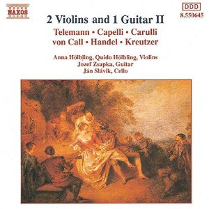 CD - Various - Two Violins and One Guitar, Vol. 2