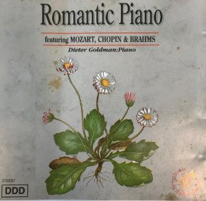 CD - Romantic Piano feat. Mozart, Chopin e Brahms