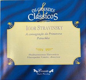 CD -  Igor Stravinsky - A Consagração da Primavera Petruchka - Os Grandes Clássicos