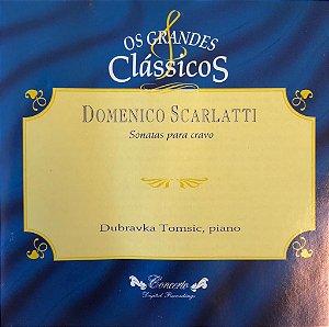 Domenico Scarlatti - Sonatas Para Cravo - Os Grandes Clássicos
