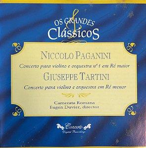 Niccolo Paganini / Giuseppe Tartini - Os Grandes Clássicos