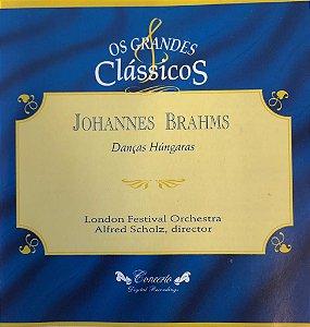CD - Johannes Brahms - Danças Húngaras - Os Grandes Clássicos