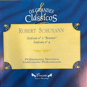 """Robert Schumann - Sinfonía N.3 """"Renna"""" / Sinfonía N.4"""