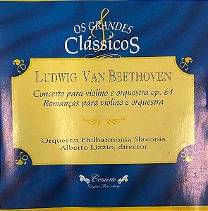 Ludwig Van Beethoven  - Concerto Para Violino e Orquestra Op. 61 - Romanças Para Violino e Orquestras -- Os Grandes Clássicos