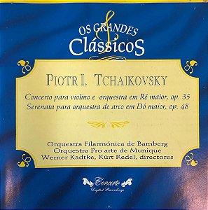 Piotr I. Tschaikovsky - Concerto Para Violino e Orquestra em Ré Maior, Op 35 / Serenata Para Orquestra de Arco em Dó Maior, Op 48 - Os Grandes Clássicos