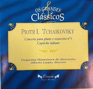 Piotr I. Tchaikovsky - Concerto Para Piano e Orquestra N.1 Capricho Italiano - Os Grandes Clássicos