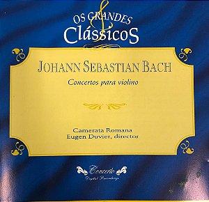 CD - Johann Sebastian Bach - Conciertos Para Violin - Os Grandes Clássicos