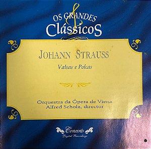 CD - Johann Strauss - Valse, Polcas Y Marchas de Viena