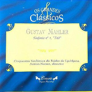 "CD - Gustav Mahler - Sinfonia N. 1 ""Titã"" / Os Grandes Clássicos"