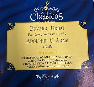 Edvard Grieg - Peer Gynt Suites No 1 & No. 2 / Adolphe C. Adam - Giselle -- Os Grandes Clássicos