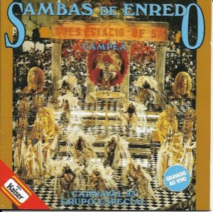 LP - Sambas De Enredo 93 (Grupo Especial) (Vários Artistas)