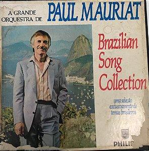 LP - Paul Mauriat – Brazilian Song Collection - Uma Seleção Exclusivamente De Temas Brasileiros (BOX 5 DISCOS)