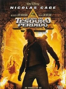 DVD - A LENDA DO TESOURO PERDIDO
