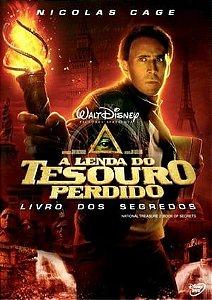 A LENDA DO TESOURO PERDIDO - LIVRO DOS SEGREDOS