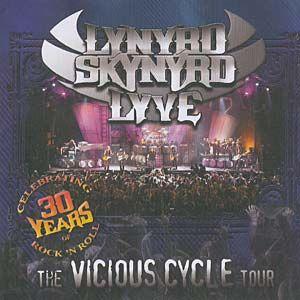 CD - Lynyrd Skynyrd – Lyve-The Vicious Cycle Tour - CD Duplo