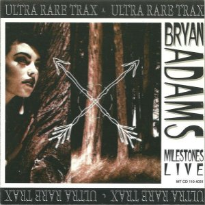 CD - Bryan Adams ‎– Milestones Live
