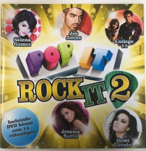CD - Various ‎– Pop It, Rock It 2