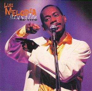 CD - Luiz Melodia – Luiz Melodia Acustico Ao Vivo