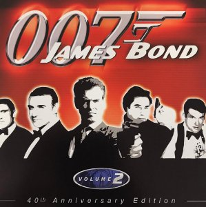 Various ‎– 40 TH Anniversary Edition - Vol. 2 (OO7 James Bond)
