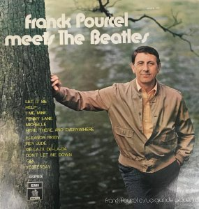 LP - Franck Pourcel e Sua Grande Orquestra - Meets The Beatles