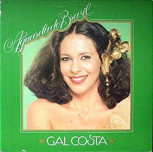 LP - Gal Costa – Aquarela Do Brasil