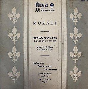 Mozart - Paul Walter, P. Messner – Mozart: Organ Sonatas