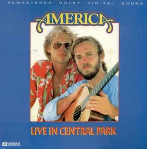 CD - America  – Live In Central Park