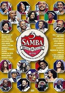 DVD - Samba Social Clube 3 (Ao Vivo) (Vários Artistas)