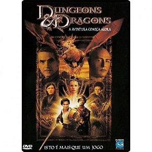 DVD - DUNGEONS & DRAGONS - A AVENTURA COMEÇA AGORA, ISTO É MAIS QUE UM JOGO
