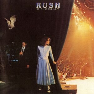 CD - Rush ‎– Exit...Stage Left