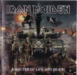 CD -  Iron Maiden – A Matter Of Life And Death