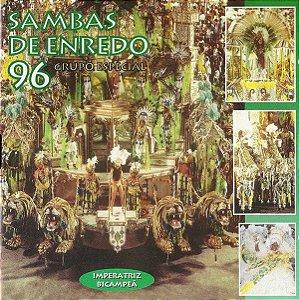CD - Various – Sambas De Enredo 96 - Grupo Especial
