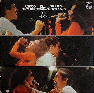 CD - Chico Buarque & Maria Bethânia – Chico Buarque & Maria Bethânia Ao Vivo