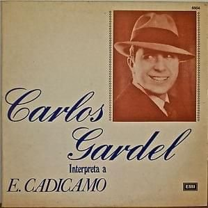 CD - Carlos Gardel ‎– Interpreta a Cadicamo