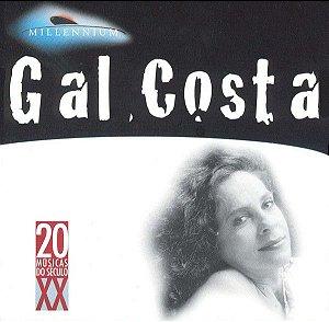 CD - Gal Costa (Coleção Millennium - 20 Músicas Do Século XX)