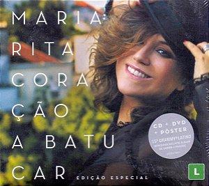 CD + DVD - Maria Rita – Coração A Batucar ( CD + DVD ) - Lacrado