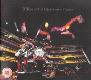 DVD + CD - Muse – Live At Rome Olympic Stadium- Digipack