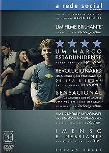 DVD - A Rede Social (Digipack)