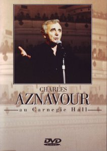 DVD - Charles Aznavour – Au Carnegie Hall