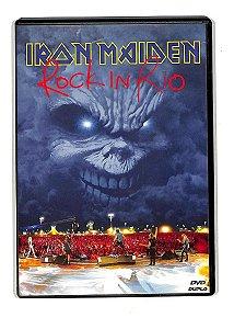 DVD -  Iron Maiden – Rock In Rio (Digipack - Duplo)
