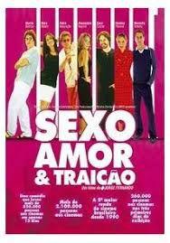 DVD - Sexo Amor & Traição