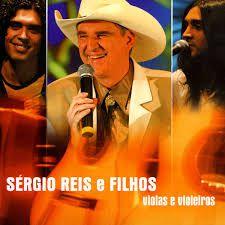 CD - Sérgio Reis e Filhos - Violas e Violeiros