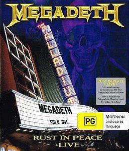 Megadeth Rust in Peace - Novo / Lacrado ( Promo )